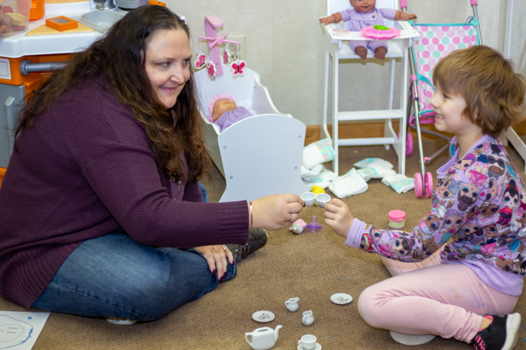 Butterfly Beginnings Play Therapy in Davenport, Iowa Kim Feeney Guides Children Through Play